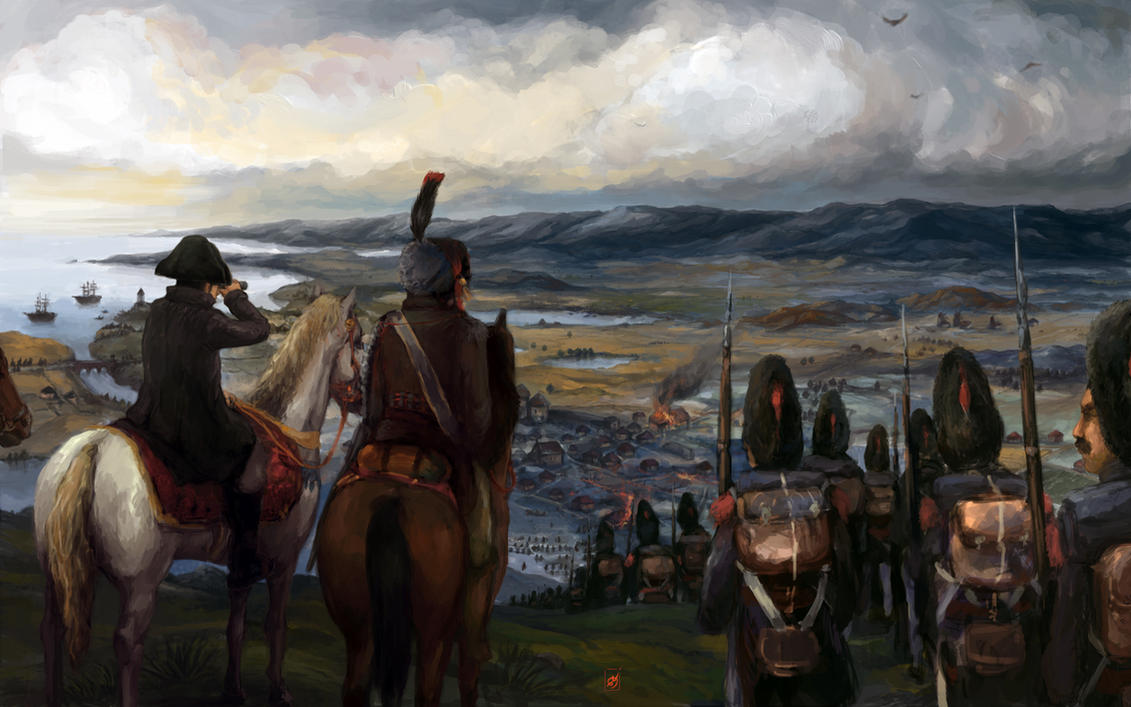 Napoleonic Battlefield by dolgwol