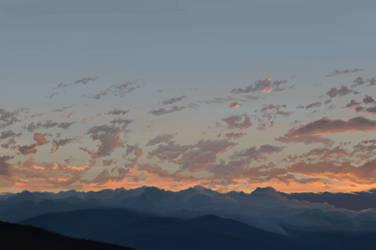 Sunset, This Evening