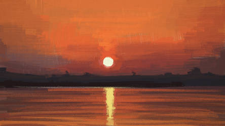 Bossa nova sunset