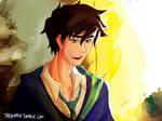 Percy in Hogwarts AU