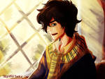 Nico in Hogwarts AU