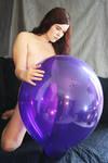 Lila Ballon II