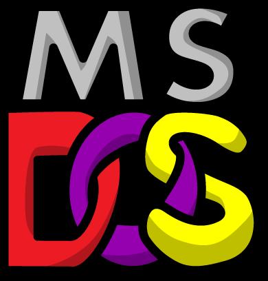 ms dos logocyberaxe on deviantart