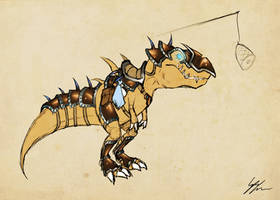 Armored Devilsaur by Noxychu
