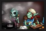 Py Comic - 4 - Kitchen Scene