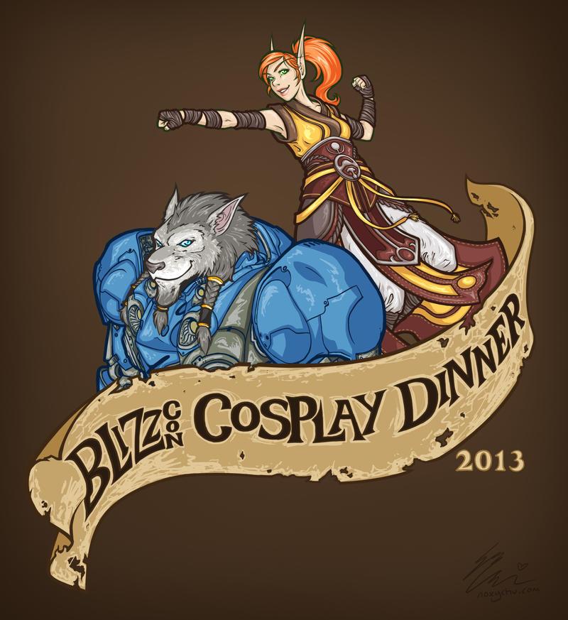 Cosplay shirt 2013 by Noxychu