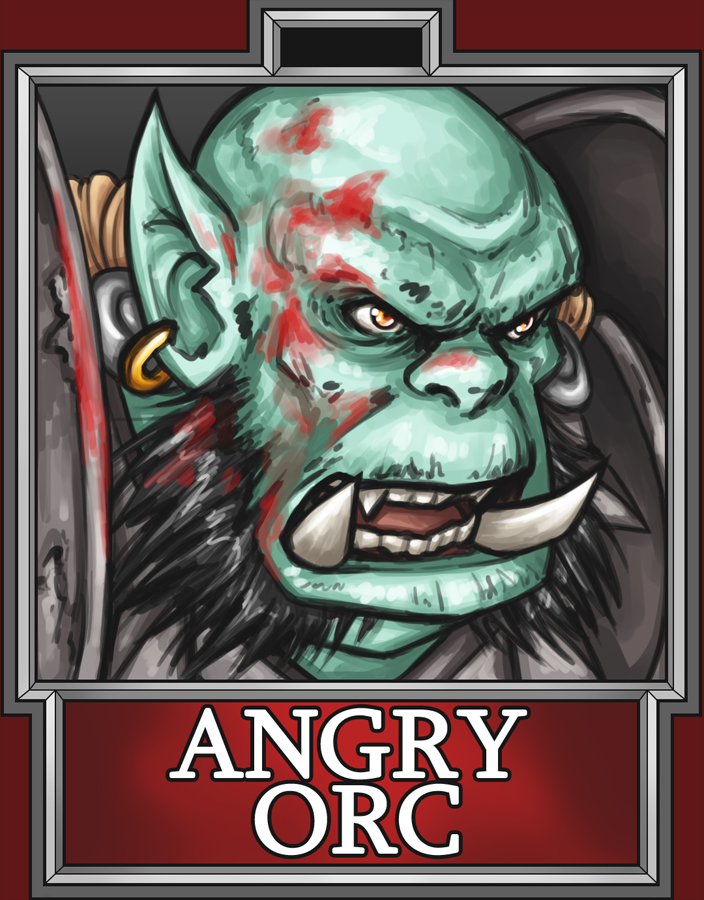 BC2013 Badge AngryOrc by Noxychu