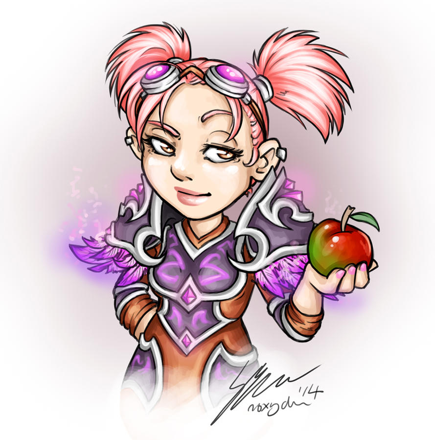 AppleCiderMage DigiSketch by Noxychu