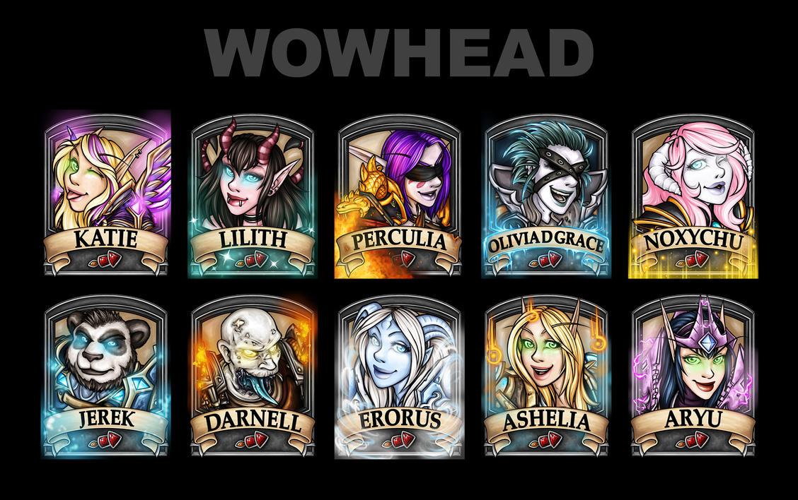 Wowhead 2014 Badges by Noxychu