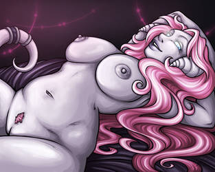 Vindicator's Prize - Nude by Noxychu