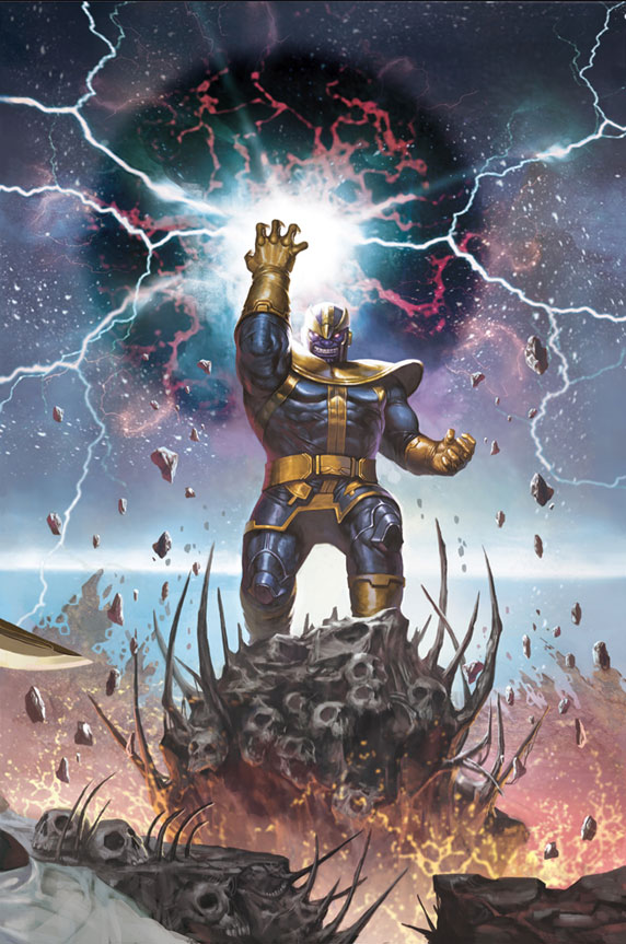 Fine  Thanos Will Enter DEATH BATTLE Himself! by PokeSEGA64 on