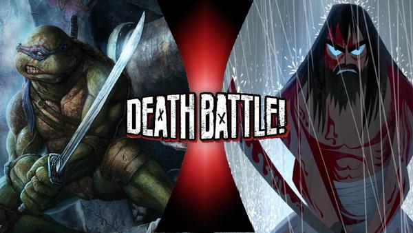 Leonardo VS Samurai Jack! by PokeSEGA64