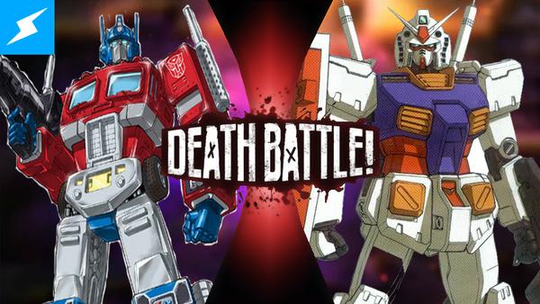 Optimus Prime VS RX-78-2 Gundam! by PokeSEGA64