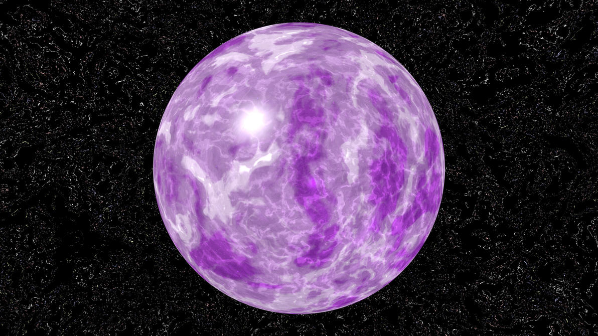 Outer Space Stars Purple