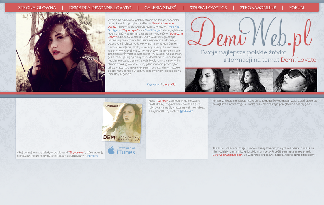 Demi in elle magazine header by wyrywny on deviantart for Elle subscription change address