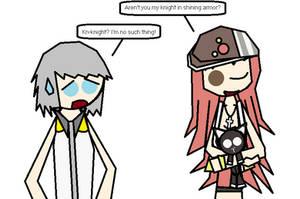 Riku the Mr. Knight by PMiller1