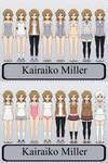 Kairaiko Miller (Chara's Older Bio Sister)