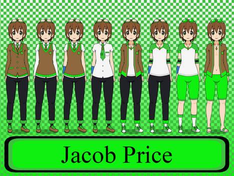 Psi Academy Uniform: Jacob Price [NeoduelGX]
