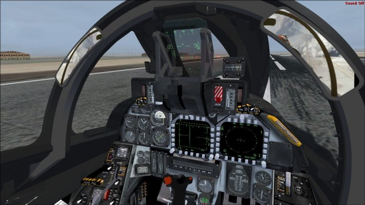 F 14 Cockpit Go Back > Galle...