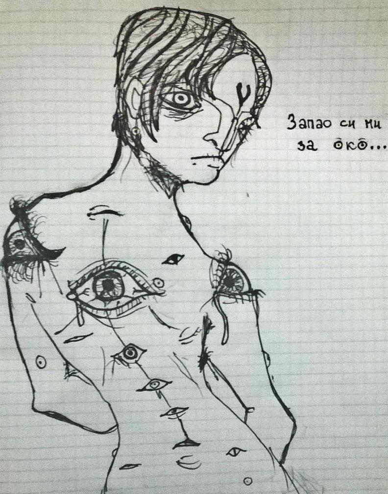 I've got an eye on you by distorzija