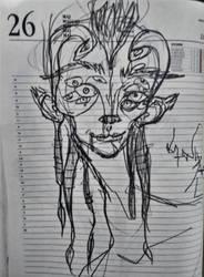 multiple eyed asshole by distorzija