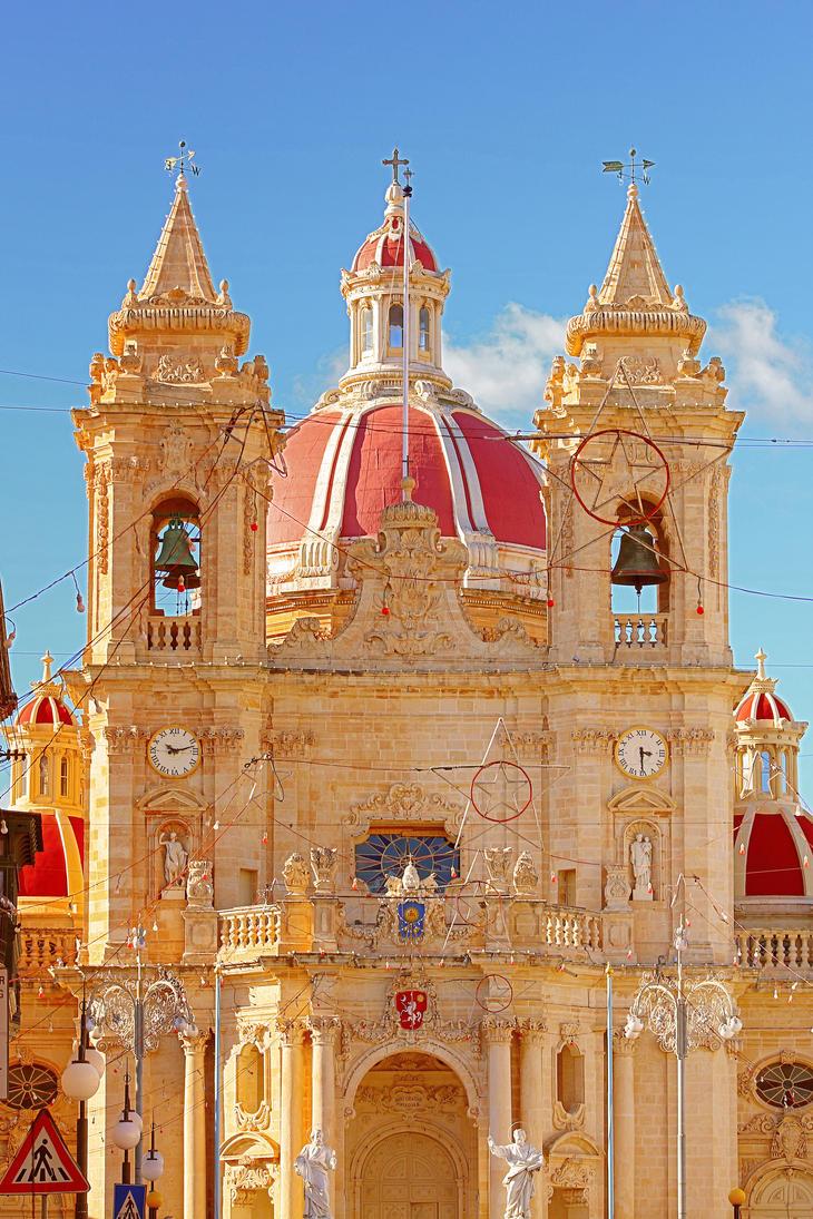 Malta Church Zabbar by NickyG-Photography