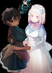 [Original Art Render] - Maids