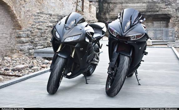 Honda CBR - Yamaha R6 XXI