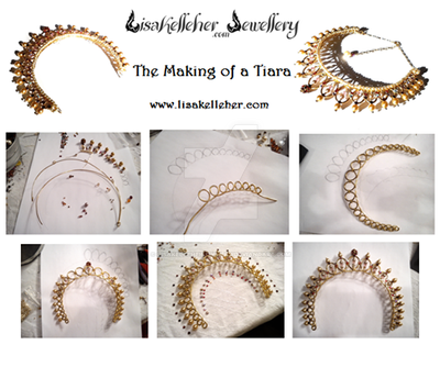 How To Make A Wire Princess Tiara by LisaKelleherJewelry