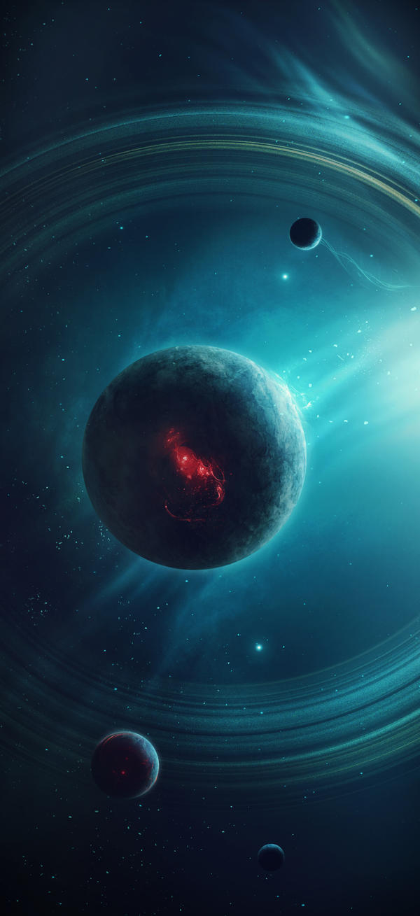 Exoplanets: Planets with Rings on OnlyOuterSpace - DeviantArt