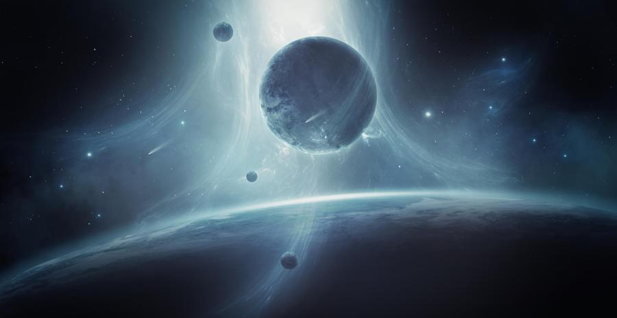 Звёздное небо и космос в картинках - Страница 20 The_white_hole_by_charmedy-dbtgofa