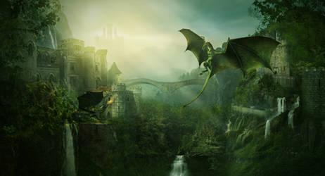 The Dragon Battle by charmedy