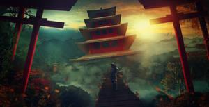 The Samurai Palace by charmedy