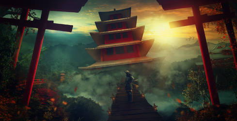 The Samurai Palace by charmedy