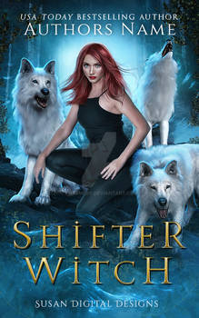 (SOLD) Shifter Witch E-book Cover