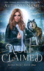 (Available) Wolf Claimed Premade E-Book Cover
