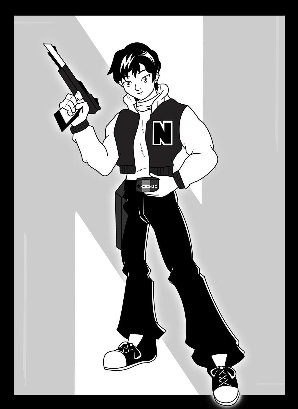 Captain N The Game Master Kevin Keene Inks By Nesgate On Deviantart