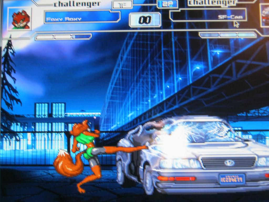 Foxy car games