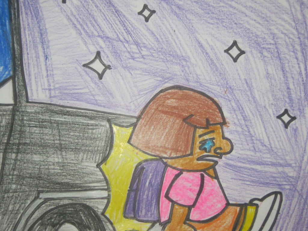 Dora got hit. by citytoon