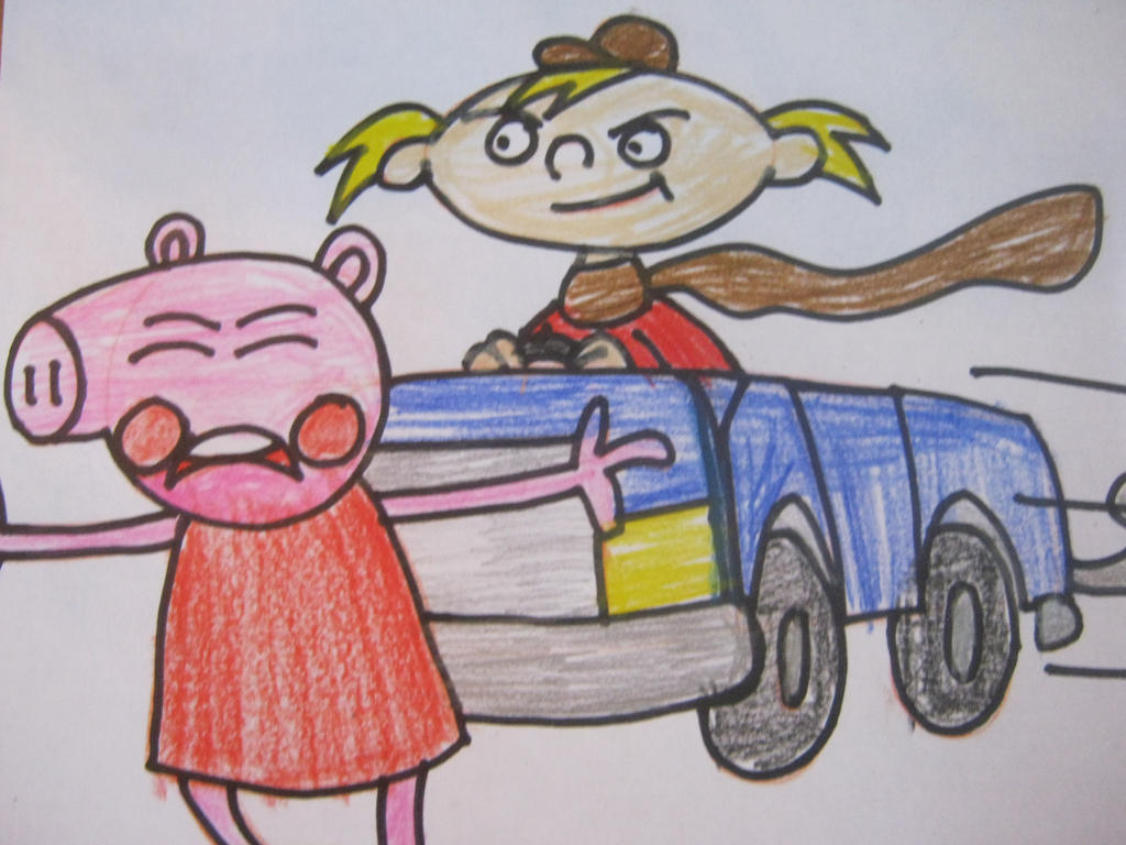 hey arnold hates peppa pig too bits. by citytoon