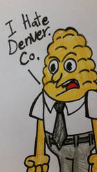 People all over the US hates Denver Colorado by citytoon