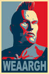 Tekken - JACK UNIT propaganda poster