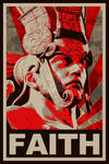 Tekken - Ancient Ogre FAITH propaganda poster