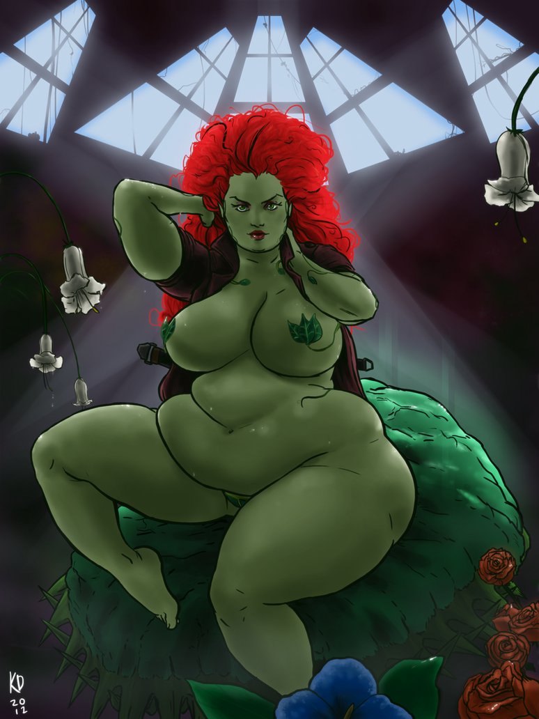 Poison Ivy by kawaiidebu