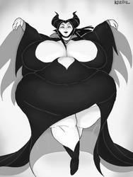 Maleficent by kawaiidebu