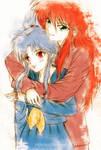 Botan and Kurama