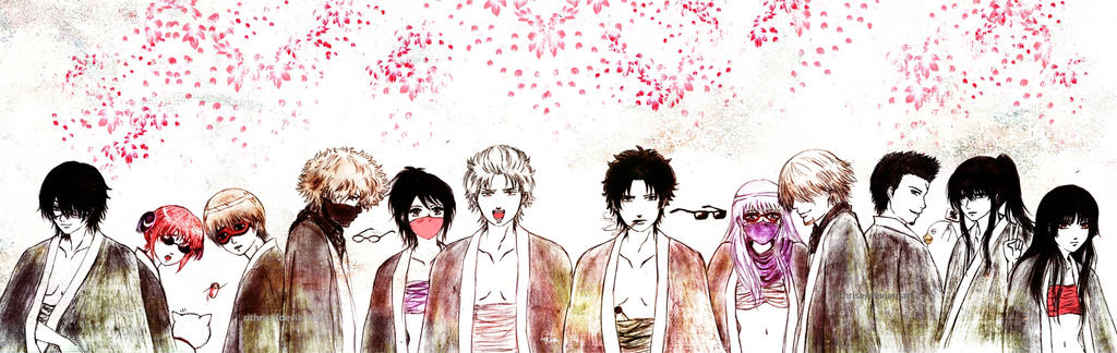 Gintama Gang by rithrisa