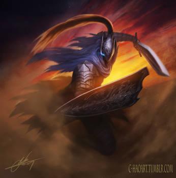 Knight Artorias by C-HaoArt