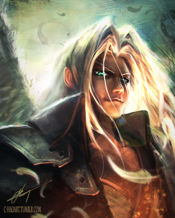 Sephiroth - The One Winged Angel by C-HaoArt on DeviantArt One Winged Angel Sephiroth