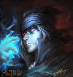 Uchiha Sasuke by C-HaoArt